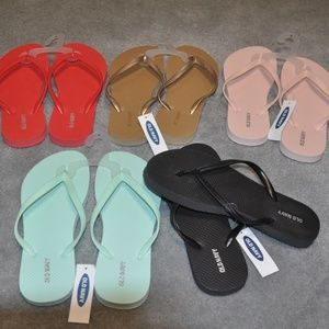 Old Navy Flip Flops (5 pair)